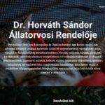 Dr. Horváth Sándor állatorvosi rendelője