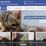 Net Vet Állatorvosi Rendelő Intézet és állat kozmetika